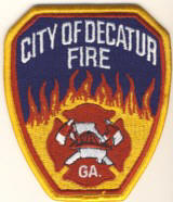 Abzeichen Fire Department City of Decatur