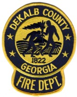 Abzeichen Fire Department Dekalb County