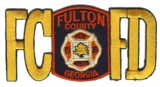 Abzeichen Fire Department Fulton County