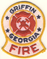Abzeichen Fire Department Griffin