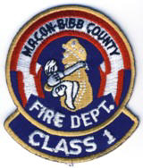 Abzeichen Fire Department Macon Bibb County