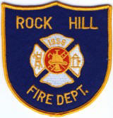 Abzeichen Fire Department Rock Hill