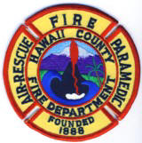 Abzeichen Fire Department Hawaii County