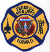 Abzeichen Federal Fire Department of Hawaii