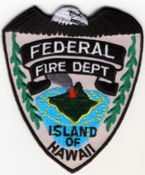Abzeichen Federal Fire Department Island of Hawaii