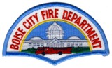 Abzeichen Fire Department Boise City