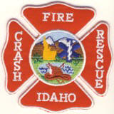 Abzeichen Fire Crash Rescue Idaho