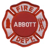 Abzeichen Fire Department Abbott