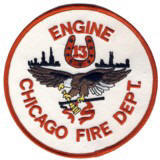 Abzeichen Fire Department Chicago / Engine Company 13
