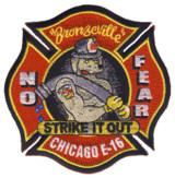 Abzeichen Fire Department Chicago / Engine Company 16