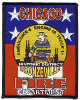 Abzeichen Fire Department Chicago / Engine Company 19