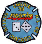 Abzeichen Fire Department Chicago / Engine Company 38