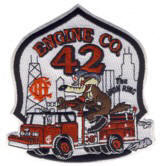 Abzeichen Fire Department Chicago / Engine Company 42