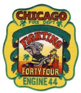 Abzeichen Fire Department Chicago / Engine Company 44