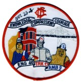 Abzeichen Fire Department Chicago / Engine Company 46