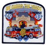 Abzeichen Fire Department Chicago / Engine Company 49