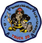 Abzeichen Fire Department Chicago / Engine Company 54