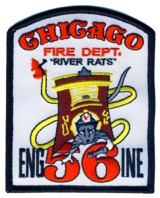 Abzeichen Fire Department Chicago / Engine Company 56