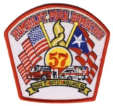 Abzeichen Fire Department Chicago / Engine Company 57