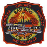 Abzeichen Fire Department Chicago / Engine Company 62