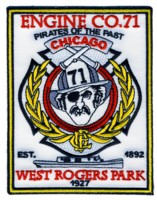 Abzeichen Fire Department Chicago / Engine Company 71