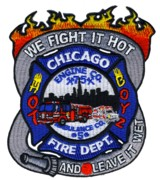 Abzeichen Fire Department Chicago / Engine Company 75