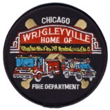 Abzeichen Fire Department Chicago / Engine Company 78