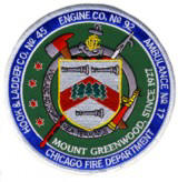 Abzeichen Fire Department Chicago / Engine Company 92