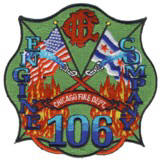 Abzeichen Fire Department Chicago / Engine Company 106