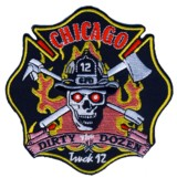 Abzeichen Fire Department Chicago / Engine Company 110
