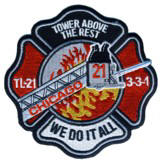 Abzeichen Fire Department Chicago / Engine Company 112