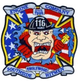 Abzeichen Fire Department Chicago / Engine Company 116