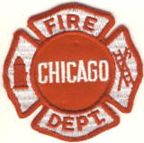 Abzeichen Fire Department Chicago