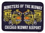 Abzeichen Fire Department Chicago / Midway Airport Rescue Station