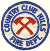Abzeichen Fire Department Country Club Hills