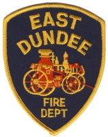 Abzeichen Fire Department East Dundee