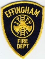 Abzeichen Fire Department Effingham