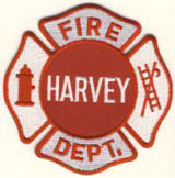 Abzeichen Fire Department Harvey