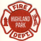 Abzeichen Fire Department Highland Park