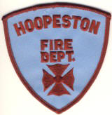 Abzeichen Fire Department Hoopeston