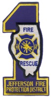 Abzeichen Fire and Rescue Jefferson Protection District