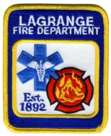 Abzeichen Fire Department Lagrange