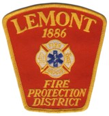 Abzeichen Fire Protection District Lemont