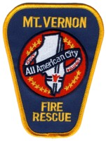 Abzeichen Fire and Rescue Mount Vernon