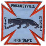 Abzeichen Fire Department Pinckneyville