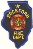 Abzeichen Fire Department Rockford