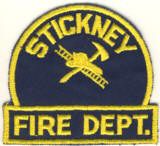Abzeichen Fire Department Stickney