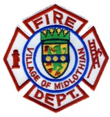 Abzeichen Fire Department Village of Midlothian