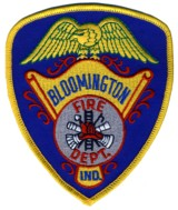Abzeichen Fire Department Bloomington