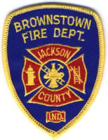Abzeichen Fire Department Brownstown